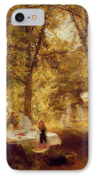 Picnic Phone Case by Charles James Lewis