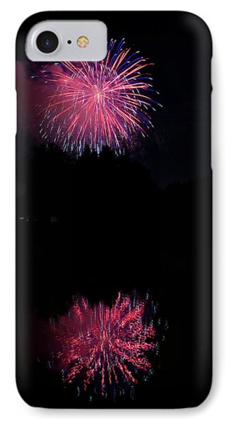 Pink Fireworks Phone Case by James BO  Insogna