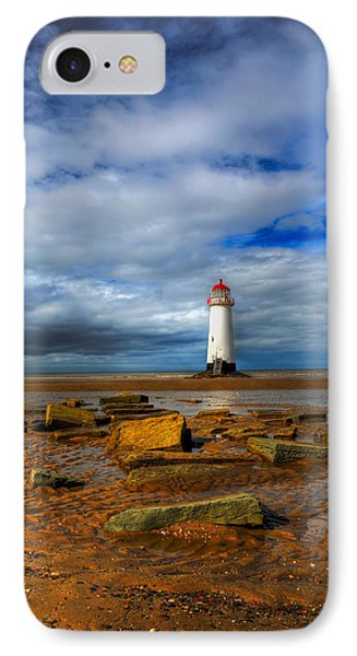 Point Of Ayr Beach Phone Case by Adrian Evans