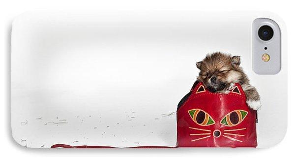 Pomeranian 2 Phone Case by Everet Regal