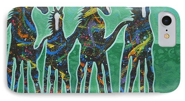 Pony Pastures Phone Case by Lance Headlee