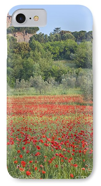 Poppy Field Phone Case by Rob Tilley