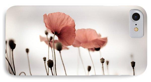 Poppy Flowers 16 IPhone Case by Nailia Schwarz