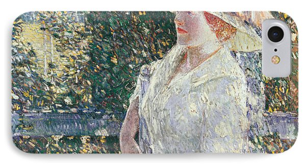 Portrait Of Miss Weir Phone Case by Childe Hassam