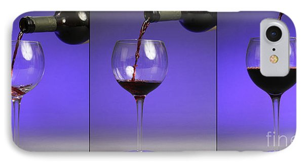 Pouring Wine Phone Case by Photo Researchers, Inc.