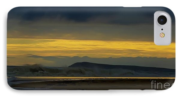 Powlett River On A Stormy Morning Phone Case by Blair Stuart