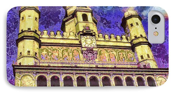 Poznan City Hall Phone Case by Mo T