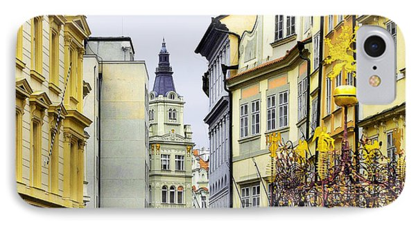 Prague - Walking In The Footsteps Of Kings Phone Case by Christine Till