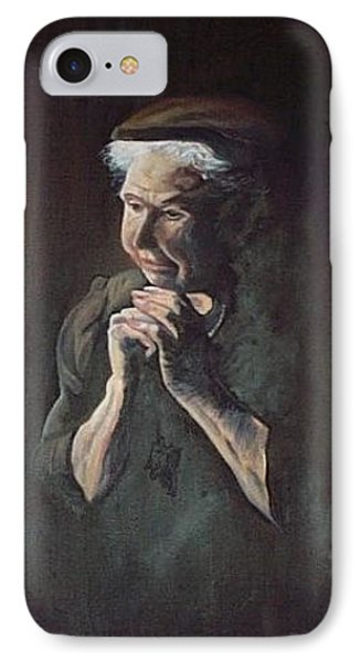 Prayer Phone Case by Joyce Reid