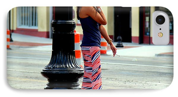 Pretty Woman Phone Case by Karen Wiles