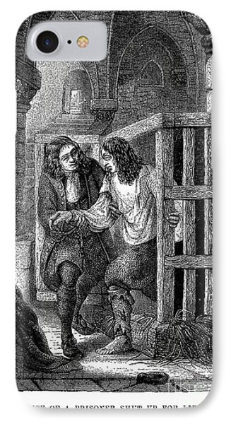 Prison: Cage, 17th Century Phone Case by Granger