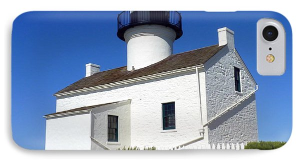 Pt. Loma Lighthouse Phone Case by Carla Parris