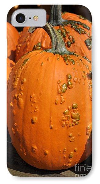Pumpkinville IPhone Case by Luke Moore