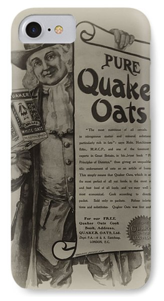 Pure Quaker Oates IPhone Case by Bill Cannon