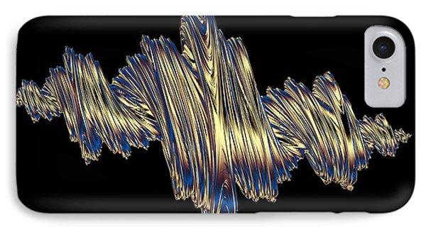 Quaternionic Fractals IPhone Case by Laguna Design