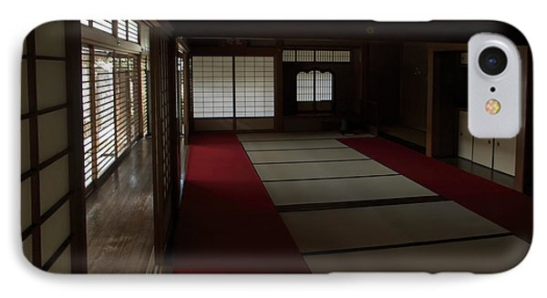 Quietude Of Zen Meditation Room - Kyoto Japan Phone Case by Daniel Hagerman