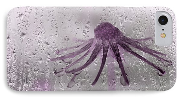 Rain On Me - Pink IPhone Case by Aimelle
