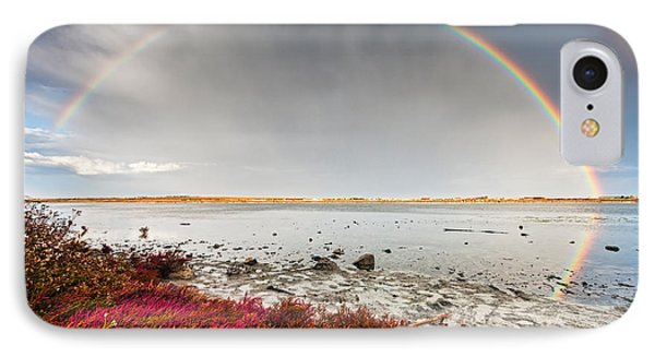 Rainbow By The Lake Phone Case by Evgeni Dinev