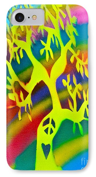 Rainbow Roots Phone Case by Tony B Conscious