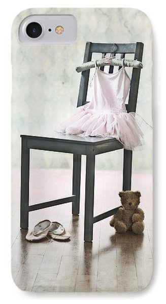 Ready For Ballet Lessons Phone Case by Joana Kruse