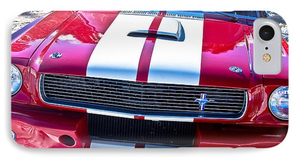 Red 1966 Mustang Shelby Phone Case by James BO  Insogna