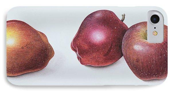 Red Apples IPhone 7 Case by Margaret Ann Eden