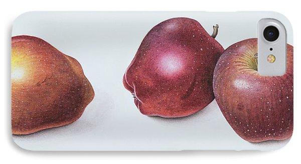 Red Apples IPhone Case by Margaret Ann Eden