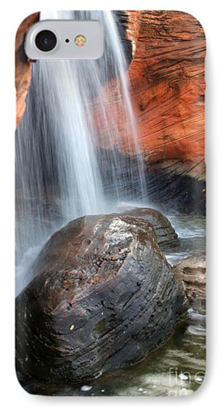 Red Waterfall Phone Case by Carlos Caetano