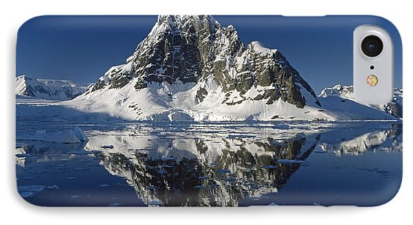 Reflections With Ice Phone Case by Antarctica