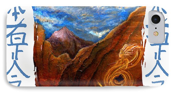 Reiki Healing Art Of The Sedona Vortexes Phone Case by The Art With A Heart By Charlotte Phillips
