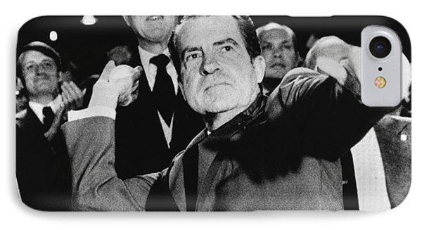 Richard Nixon (1913-1994) Phone Case by Granger