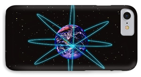 Rings Around The Earth Phone Case by Stocktrek Images