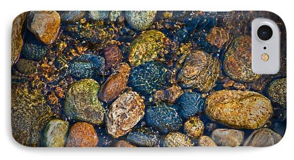 River Rock Phone Case by Karol Livote