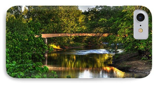 River Walk Bridge Phone Case by Greg and Chrystal Mimbs
