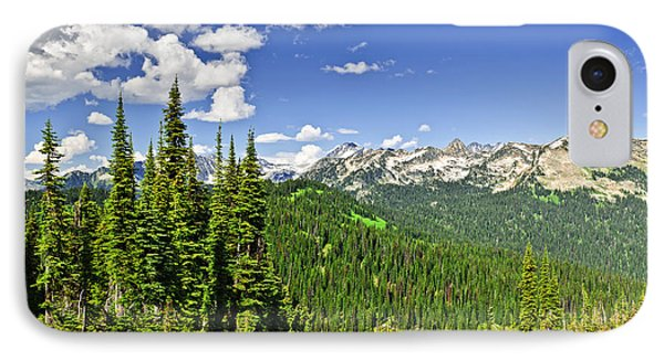 Rocky Mountain View From Mount Revelstoke Phone Case by Elena Elisseeva