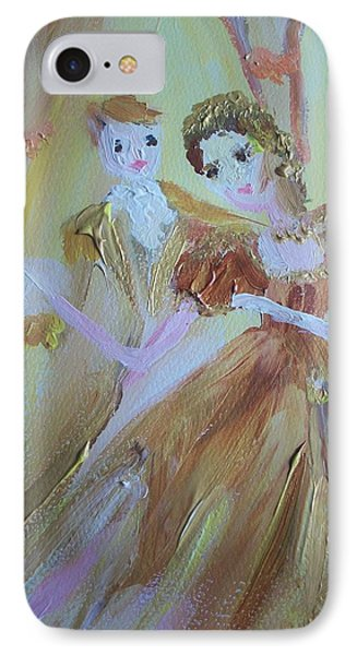 Romantic Encounter Phone Case by Judith Desrosiers