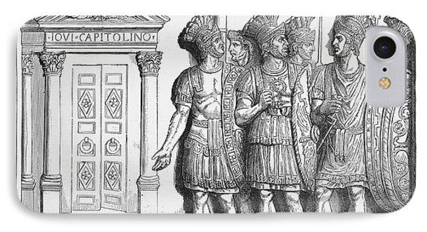 Rome: Praetorian Guards Phone Case by Granger