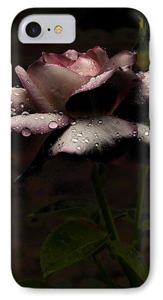 Rose After Dark Phone Case by Barbara Middleton