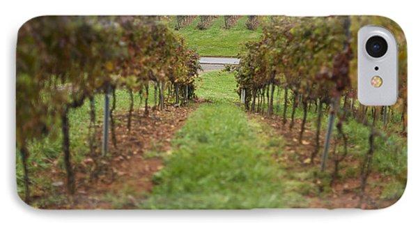 Rows Of Grape Vines Phone Case by Roberto Westbrook
