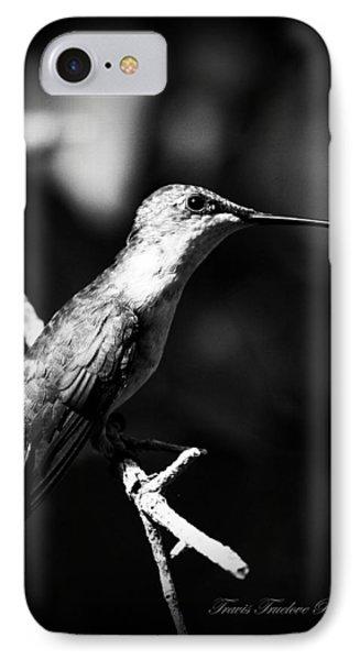 Ruby-throated Hummingbird - Signature Phone Case by Travis Truelove