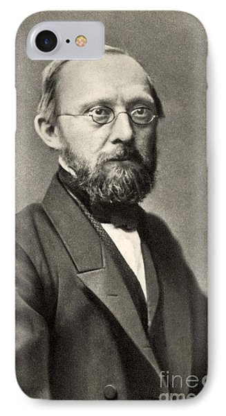 Rudolph Virchow, German Polymath Phone Case by Photo Researchers