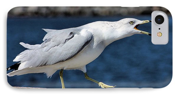 Ruffled Feathers Phone Case by Kristin Elmquist