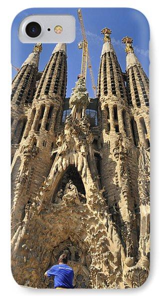 Sagrada Familia Barcelona Spain Phone Case by Matthias Hauser
