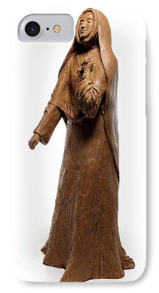 Saint Rose Philippine Duchesne Sculpture Phone Case by Adam Long