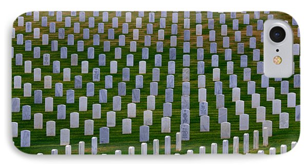 San Diego Military Memorial 3 IPhone Case by Bob Christopher