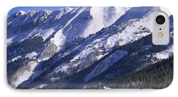 San Juan Mountains Covered In Snow Phone Case by Tim Fitzharris