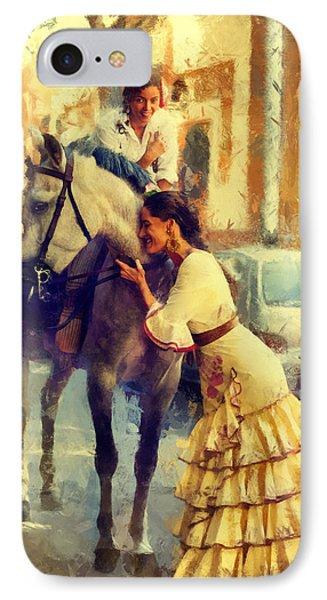 San Miguel Fair In Torremolinos Phone Case by Jenny Rainbow