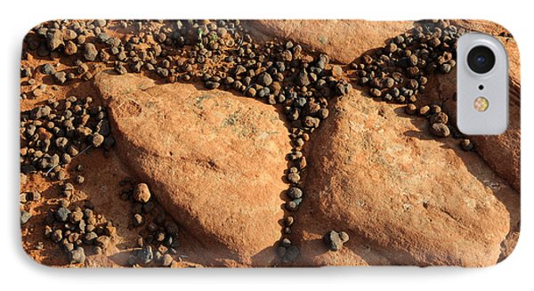 Sandstone And Pebbles Phone Case by Gary Whitton