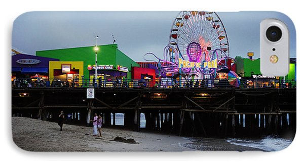 Santa Monica Pier May 12 2012 Phone Case by Clayton Bruster