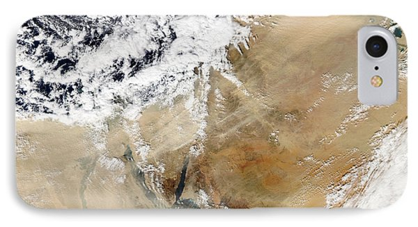 Satellite View Of The Eastern Phone Case by Stocktrek Images